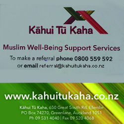 Kahuitukaha - Muslim Well being support services